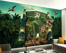 online get cheap peint paper kids aliexpress com alibaba group beibehang any size size wallpaper dinosaur tv wall murals children bedroom papel de parede 3d wallpaper