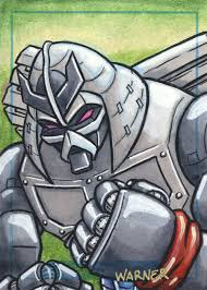 chrome dome sketch card by jlwarner on deviantart