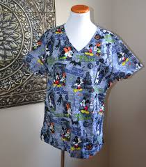 mickey halloween shirt disney halloween mickey minnie mouse scrub haunted mansion top