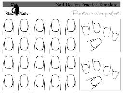 nail art design practice sheet black cat nails pinterest cat