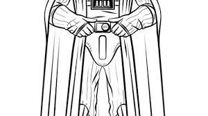 Darth Vader Outline Drawing Darth Vader Coloring Page Free Darth Vader Coloring Pages