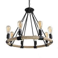lnc rustic chandeliers 8 light pendant lighting chandelier