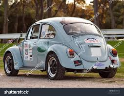 volkswagen beetle race car racing vw beetle parked near victoria stock photo 790676