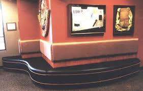 Bench Restaurant Restaurant Booth Waiting Bench With Wall Hung Back Pads