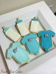 elephant baby shower cookies cakecentral com