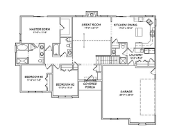 Buy Floor Plans Traditional Ranch House Plans Home Design Mas1069