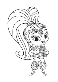 coloring pages for 34 year old girls 3 4 years nursery to print