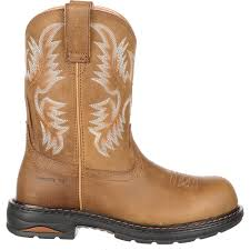 womens boots work s composite toe pull on work boots by ariat tracey 10008634