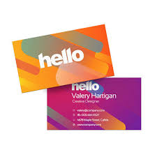 Thickness Of Business Card Business Card Printing U0026 Cheap Business Cards Helloprint