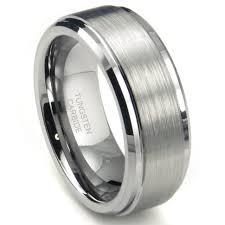 Tungsten Wedding Rings by Wedding Rings Mens Wedding Bands White Gold Mens Black Tungsten
