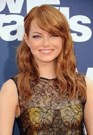emma stone natural hair 10 celebrities whose natural hair colour will seriously surprise you