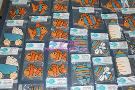 fishing themed baby shower cristin s cookies go fish for a baby shower