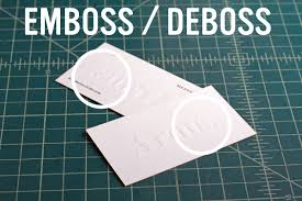 Meaning Of Invitation Card Emboss Vs Deboss Vs Blind Letterpress The Mandate Press