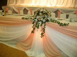 wedding flowers kitchener kandace s orangepink theme flowers at wedding table