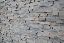 Stacked Stone Veneer Kitchen Modern With Slate Wall Crackle Mosaic - Stacked stone veneer backsplash
