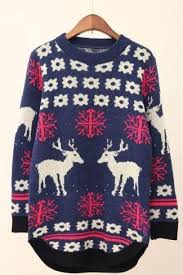 sweater s sale sale s fashion lovely students deer sweater