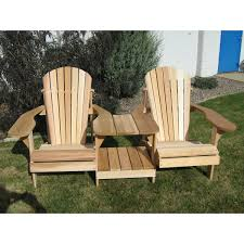 Cedar Adirondack Chair Plans Tete A Tete Chair Highwood Coastal Teak Adirondack