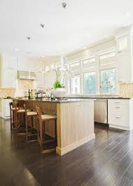 Kitchen With Grey Floor by 34 Kitchens With Dark Wood Floors Pictures