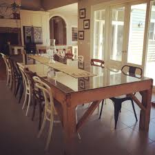 Sustainable Dining Table Our 100 Year Wool Classing Table The Design Inspiration