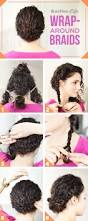 create a wrap around braid look with this tutorial naturally