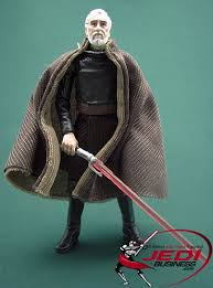 count dooku figure 2010 set 5 the legacy collection