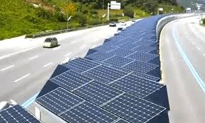 Solar Power Traffic Lights by 20 Mile Bike Lane Is Also Massive Solar Array Ecowatch
