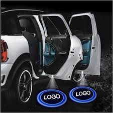 toyota car logo amazon com 2pcs wireless car projection led projector door shadow