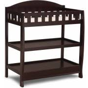 Delta Bennington Changing Table Delta Children Wilmington Changing Table With Pad Chocolate