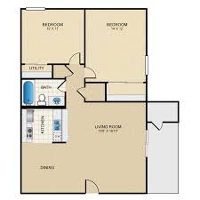 2 bedroom 1 bath floor plans the highlands availability floor plans pricing