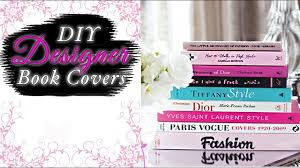 Diy Fashion Projects Fashion Book Covers Diy Projects Easy Craft Ideas Youtube