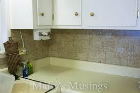 Sample Aluminum Mosaic Tile Peel U Stick Kitchen Backsplash - Peel and stick backsplash kits