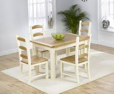 Epsom Cream Pedestal Dining Table Set With  Chairs Fantastic - Cream kitchen table