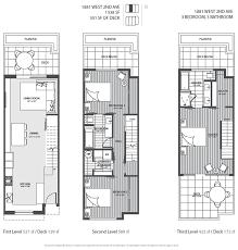modern townhouse plans modern townhouse floor plans homes floor plans