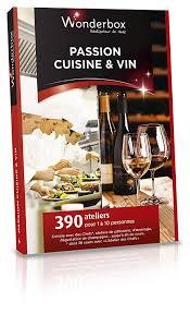 cuisine vin wonderbox coffret cadeau cuisine vin amazon fr