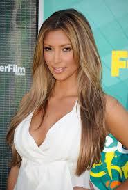 kim kardashian u0027s changing hair styles mirror online