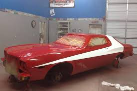 What Year Is The Starsky And Hutch Car Addicted To Painting Famous Tv And Movie Cars