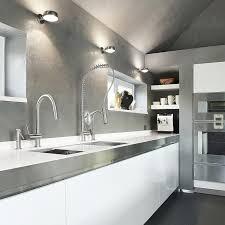 kitchen sconce lighting white grey kitchen decoration using simple round metal kitchen