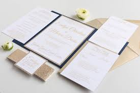 navy wedding invitations the suite glitter wedding invitation all that glitters