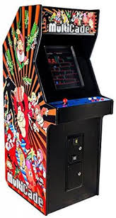 Ms Pacman Cabinet Ms Pac Man U0026 Galaga Upright Arcade Game Machine Sports