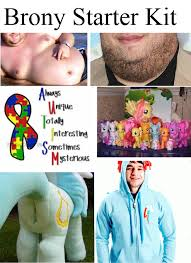 Know Your Meme Brony - mfw brones starter packs know your meme