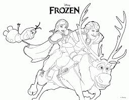 olaf coloring pages kids coloring