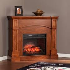 Corner Electric Fireplace Small Corner Fireplace Wayfair