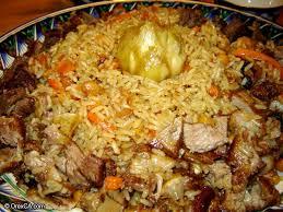 cuisine ouzbek palov ou plov ouzbékistan legratin be