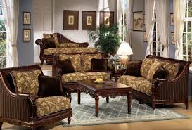 Catchy Traditional Sofas Living Room Furniture Traditional Living - Wooden sofa designs for drawing room