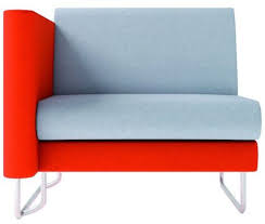 one and a half seater sofa one and half seater sofa refuge right arm office reality