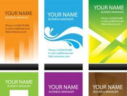 modern simple business card template free vectors ui download