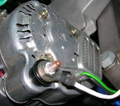 wiring lightweight nippon denso alternator triumph technical