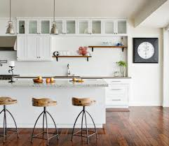 bar stool industrial kitchen traditional with white kitchen
