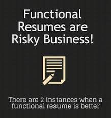 3 Types Of Resumes Resume Tip Tuesday Choosing Between Functional Chronological Or