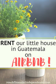 house for rent near flores guatemala